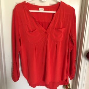 Merona Women's orange Top size L